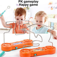 Kids Children Firewire Game Wire Skill Maze Adult Steady Hand Family Fun Toy~