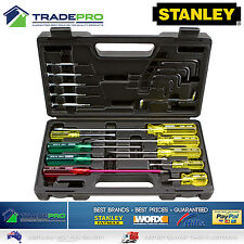 Stanley® 20pc Screwdriver Set in Carry Case with Hex Keys Screw Driver Kit 20pc