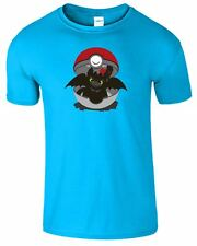 How To Train Your Dragon Kids TShirt Inspired Toothless Pokemon Girls Top Tshirt