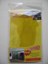 Non-Slip Car Dashboard Sticky Pad Sydney Transparent Yellow Foot Shape