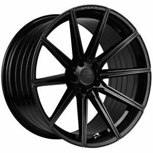 """20"""" Stance SF09 Black Concave Forged Wheels Rims Fits Infiniti G35 Coupe"""