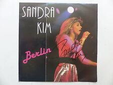 SANDRA KIM Berlin 125094  Dédicacé devant