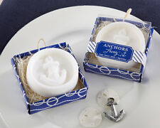 Anchors Away Nautical Beach Theme Scented Soap Bridal Shower Wedding Favors