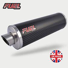 Aprilia RSV Tuono Exhaust Slash Carbon Round Midi UK Road Legal + Black Bracket