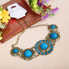 New Tribal Belly Dance Costume Accessory Necklace Jewelry Turquoise