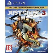 Just Cause 3 Day One Edition Inc Weaponised Pack (PS4) UK PAL New & Sealed