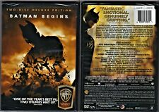 New listing Batman Begins (Dvd 2005 2-Disc Se Ws) Christian Bale Liam Neeson