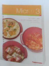 Tupperware neuf livre recettes micro 3 promo 50%