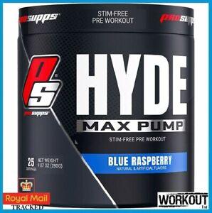 ProSupps Mr Hyde MAX PUMP Stim-Free Pre Workout Pump Endurance EU 25 SERV