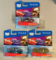 Disney CARS Pixar Fest Set LOT (3) McQueen, Mater, Ramone Chrome Metallic