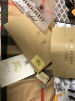 2019 Winter Luxury Cashmere Scarves BURBERRY Large Shawls 200*70 with BOX