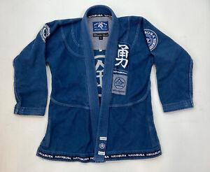 Hayabusa Goorudo Blue Jiu Jitsu Kimono - Size A1