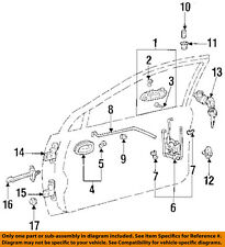 Chevrolet GM OEM 98-02 Prizm Front Door-Guide 94857518
