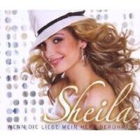 "SHEILA ""WENN DIE LIEBE MEIN HERZ BERÜHRT"" CD SINGLE NEU"
