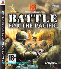 History Channel: Battle for the Pacific Sony PS3 16+ Strategy Shooter FPS Game