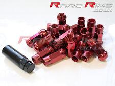 Red GT50 Wheel Nuts x 20 12x1.25 Fits Subaru Impreza STI WRX GT86