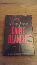 Carte Blanche FIRMADO LIMITADO numerado edición Slipcased LIBRO Jeffery Deaver