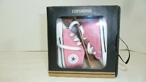 Converse Chuck Taylor First Star Pink Hi Top Size 2 US Crib Shoes Baby 88871