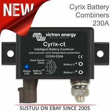 Victron Energy Cyrix-ct 12/24V Batería Inteligente Combinador - 230A | IP54 | Uso Marino