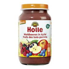 Holle - Waldbeeren in Apfel - 220 g - 6er Pack