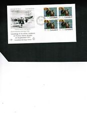 CANADA 1973  SCOTTISH SETTLERS  BL/4 on FDC  #619   BOX 529