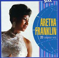 ARETHA FRANKLIN 20 Greatest Hits (1987) 20-track CD NEW/SEALED