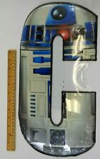 "Star Wars R2D2 Metal Sign - 9"" x 18"""