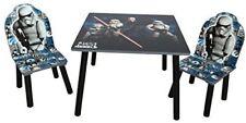 DISNEY STAR WARS REBEL WOODEN TABLE & CHAIRS BOYS FURNITURE SET