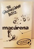The Groove Grass Boyz Macarena Country Version Cassette Tape 1996 RARE Music