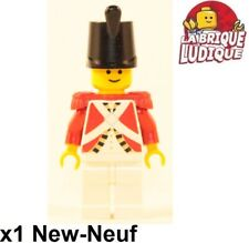 Lego Figurine Minifig Pirate Pirates soldat soldier garde imperial rouge NEUF