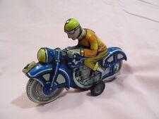 TINTOY MOTORCYCLE LEMEZARU GYAR LEMEZ LITHO IN ORIGINAL CONDITION FRICTION DRIVE