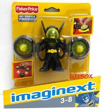 imaginext DC Super Friends Batman Figure with Turbo Back Pack Flying Suit New