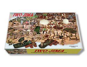 Marx Iwo Jima #4147 Play Set Box