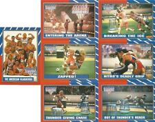 American Gladiators Full 88 Card & 11 Sticker Set from Topps - New