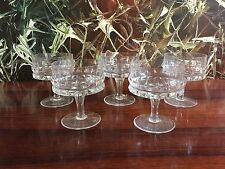 5 Noble Rosenthal verres / Coupes de champagne, série : Hold Fast