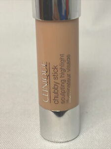 Clinique Chubby Stick 3.6g Hefty Highlighter 01 - Tiny Smudge On Tip