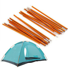 2Pcs 8.5mm Tent Poles Aluminum Alloy Spare Replacement Hiking Camping Equipment