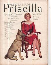 1926 Modern Priscilla May - German Shepherd; May Baskets; Waterless Cookery