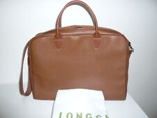 LONGCHAMP Aktentasche Businessbag Laptoptasche Leder Cognac +++TOP+++