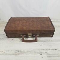 Vintage 24 Cassette Tape Holder Carry Case Storage Briefcase-Service MFG USA