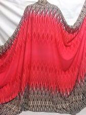 Double Border Aztec Print Very Fine Crepe De Chine Dress/Craft Fabric*FREE P&P*
