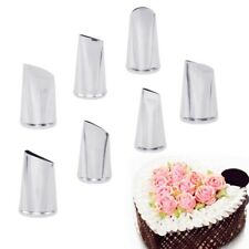 7 pcs Stainless Steel Icing Piping Cake Nozzles Tips Baking DIY Decorating Tool