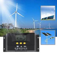 30A Solar Laderegler Solarregler Solarpanel Controller 12-24V/48V LCD 30-YC