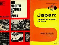 JAPAN INDUSTRIAL POWER AND MODERN HISTORY 2 BOOKS LOT B
