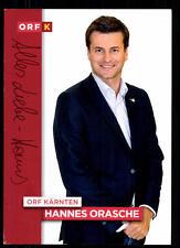 Hannes Orasche ORF Autogrammkarte Original Signiert ## BC 52159