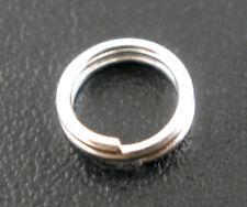 5000pcs Argento Placcato Doppio Loop dividere aprire gli anelli di salto 5mm diam.