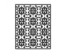 SPELLBINDERS Impressabilities FLEUR DE LIS PATTERN  I2-1014 N