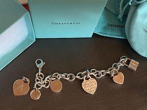 Armband Tiffany & Co. inkl. Charms, Schlösser, Anhänger *ORIGINAL*
