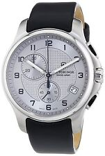 Victorinox Swiss Army Officer's Chrono, Stainless Steel Medium Grey Dial 241553