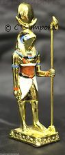 Gold Plated RA Sun God Collectible Figurine EGYPTIAN TREASURES